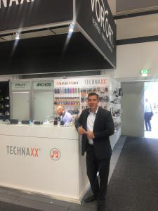 Pascal Pekcan, CEO of Technaxx