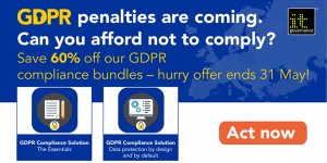 60% off GDPR all-in-one solutions - May 2019
