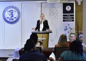 Director of Citizens Commission on Human Rights Washington, DC, Isabelle Vladoiu convened concerned community activists to a special briefing and discussion on the dangers of psychiatric treatments
