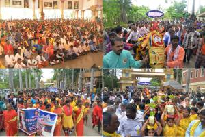 The Civic Workers Associations celebrated Sri Ganapathy Sachchidananda Swamiji's birthday