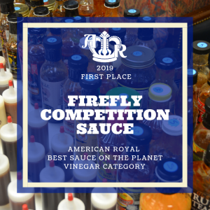 1st Place for 2019 Best BBQ Sauce on the Planet, Vinegar Category