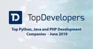Top Python, Java and PHP Development Companies for June 2019