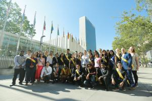 Youth participants from various countries will gather at the United Nations headquarters in New York to discuss the importance of human rights education.