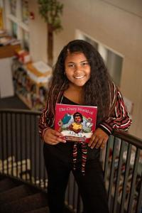 E'yannie Gomez, Preteen Author