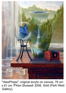 One of Shotwell's surrealistic paintings.