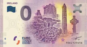 "0 Euro Banknote ""Ireland"""