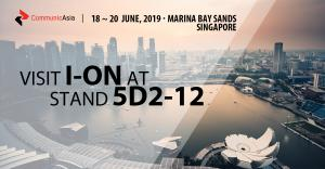 I-ON Communications Co., Ltd. will attend CommunicAsia 2019, June 18~20 in Singapore at the booth 5D2-12 showing its ECM and Sports Tech solutions.