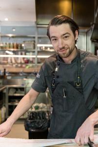 Bauhaus Restaurant Executive Chef Christian Kuehnel.