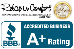 Relax In Comfort A+ Rating From The BBB