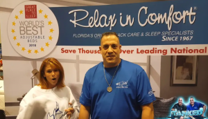 Tanked Reality Star Wayde King Relax In Comfort testimonial