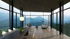 Living Room in Santani Residences Villa