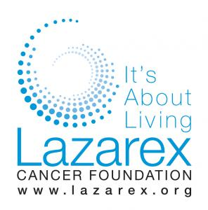 Lazarex Cancer Foundation vertical logo