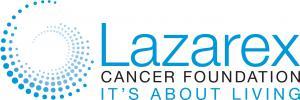 Lazarex Cancer Foundation horizontal logo