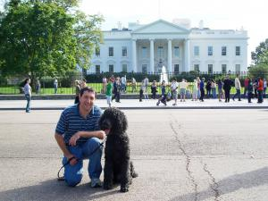 DogFriendly.com in front of the White House