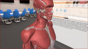 Virtual Reality based Medical Learning by 3D Organon with Munfarid in Middle East