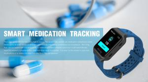 MedTech Leap Smartwatch Prescription Medication Compliance Alert And Inventory Tracking Devise