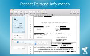 Redact your personal information