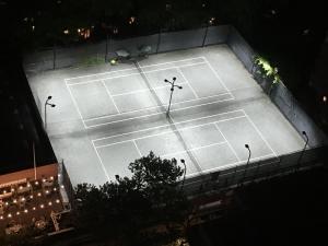 Town Tennis Club Aerial View