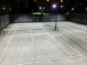Town Tennis Club On-Court View