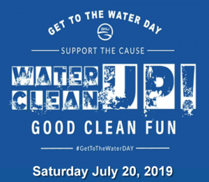 Get To The Water DAY Observance day - July 20, 2019