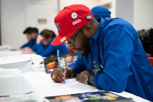 """""""I knew instantly that a tool like the human rights curriculum is needed…to teach my peers the value of responsibility and the freedoms of life and safety."""" Rev. Travis Ellis, Youth Pastor and Christian Hip Hop artist"""