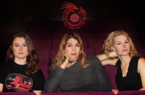 Laura Espinoza with Mindy Milburn and Miranda Miller