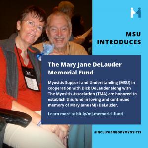 Mary Jane DeLauder Memorial Fund