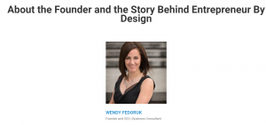 Wendy Fedoruk - Marketing E-Course