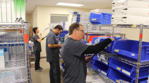 Z5 Reallocate Pros pick, pack, and ship excess medical supplies.