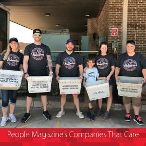 American Fidelity Colleagues Volunteer at Letter Carriers Food Drive