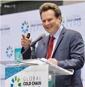 Don Durm speaking at the Global Cold Chain Expo