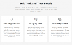 Bulk Tracking Service from OrderTracking