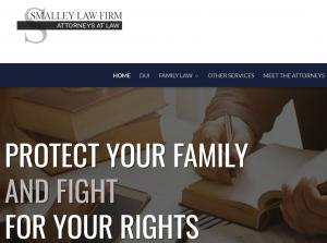 Website of attorney Richard E Smalley III in Oklahoma