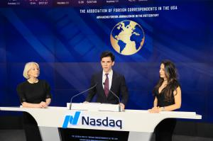 Foreign Correspondents Association honored by Nasdaq