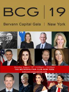 August 19 VIP Gala in New York