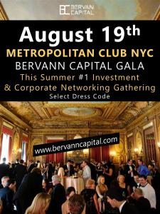 Investment and Corporate Event in New York