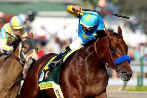 Triple Crown winner American Pharoah