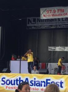Hunsdeep at TD South Asian Festival 2016