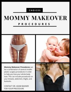 mommy makeover procedure choices
