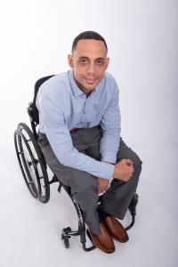 Dominic Barber posing at NTI