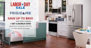 Appliances Connection 2019 Labor Day Sale: Frigidaire Kitchen