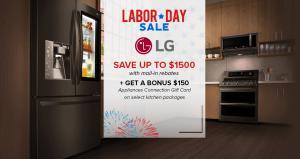 Appliances Connection 2019 Labor Day Sale: LG Kitchen