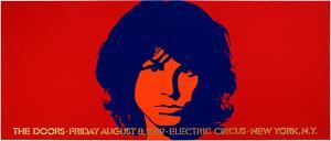 Doors Electric Circus 8/8/69 concert poster