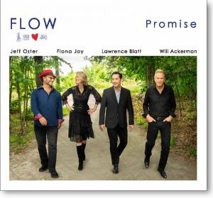 Cover image of PROMISE, the second album by FLOW.