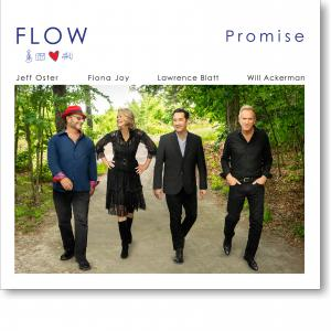 PROMISE cover art shows FLOW (the group) walking in Vermont countryside.