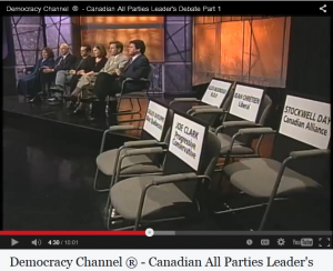 Democracy Channel® 2000 Leaders' Debate