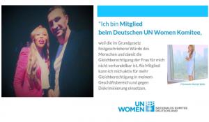 Princess Rachel Belle and heavyweight champion Dr Wladimir Klitschko