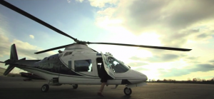 Rick Rahim is Captain of a Twin Engine Agusta Helicopter