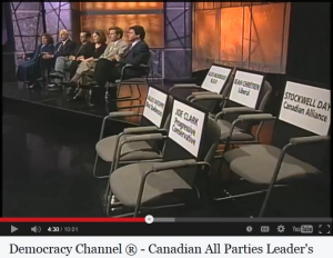 "Democracy Channel® 2000 ""All Party"" Leaders' Debate"