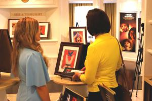 Peace Day art exhibit at the Founding Church of Scientology in Washington, D.C.